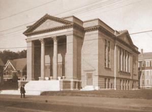 Temple Beth El in the 1930s