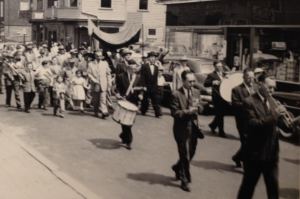 Shaare Zedek parade, 1955